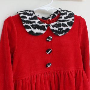 Sylvia Whyte Red Collared Dress Girls 5